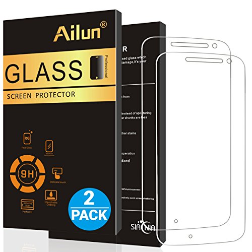 Ailun Screen Protector Moto G4[2Pack]
