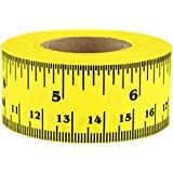 "1"" Wide, Clean-Remove Adhesive Ruler Tape (41 Rulers on a Roll of Tape) 