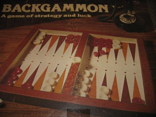 1977 Lowe Backgammon Game: Retro Acrylic Chips ()