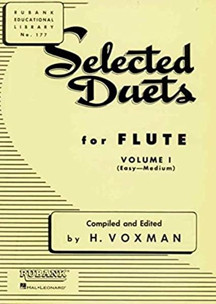 advanced 2 Selected Duets for Flute Vol