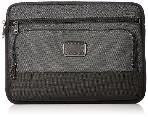 Tumi Alpha Medium Cover Laptop Bag, Pewter, One Size (Bags Computer Tumi)