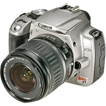 amazon com canon rebel xsi dslr camera with ef s 18 55mm f 3 5 5 6 rh amazon com canon eos rebel xt user manual canon digital rebel xt user manual
