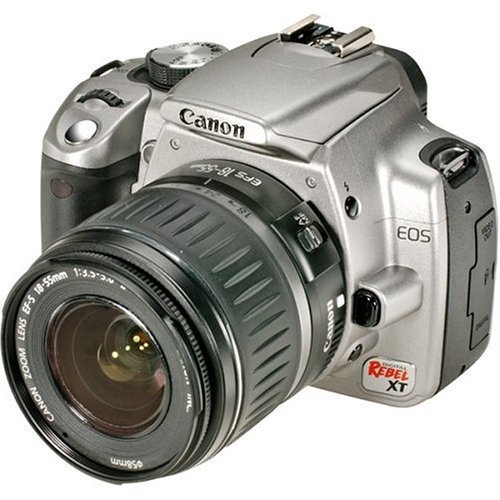 Canon Digital Rebel XT DSLR Camera with EF-S 18-55mm f/3.5-5.6 Lens (Silver-OLD (Dslr Models)