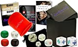 LustCraveXY Upscale Romantic & Fun Adult Dice Board Game For Couples And Date Night Box | Follow The Guide To Spice Up Your Relationship's Romance & Foreplay | Youtube Playlists, Instructions & E-Book