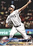 2018 Topps Update and Highlights Baseball Series #US70 Brad Hand San Diego Padres Official MLB Trading Card