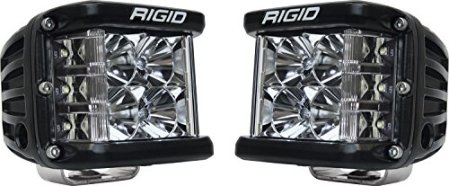 Rigid Industries 262113 D-SS Series Pro, 3 Inch, Flood Beam, LED Light, Pair Universal, 2 Pack