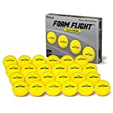 GoSports Foam Flight Practice Golf Balls 24 Pack