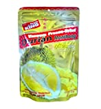 King Fruit, Durian (Monthong Chunk) Vacuum Freeze-Dried Fruit – 3.5 Oz x 2 Packs, Healthy Snack – Product of Thailand For Sale