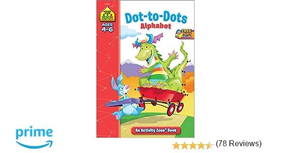 Dot-to-Dot Alphabet Activity Zone (Ages 4-6): Julie Orr, Jennifer ...