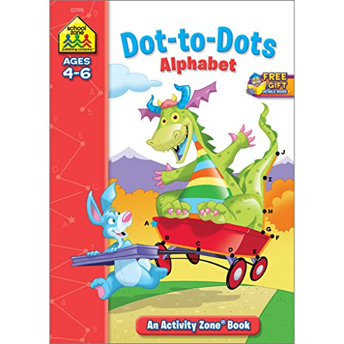 Dot-to-Dot Alphabet Activity Zone (Ages 4-6)