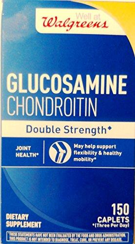 Walgreens Glucosamine Chondroitin Double Strength 150 caplets
