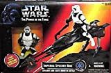 (US) Star Wars Power of the Force Imperial Speeder Bike with Biker Scout Action Figure