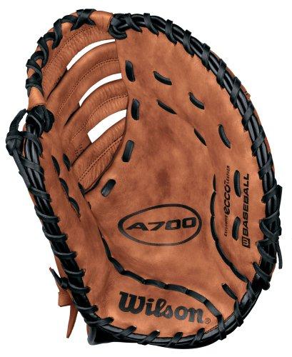 "UPC 026388869497, Wilson A0700 BM125 12 1/2"" Reinforced Single Post Web Baseman's Baseball Glove"