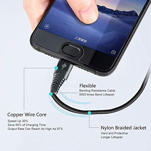 USB C Charger Cable Fast Charging Cord for Samsung Galaxy S20/S20 Plus/S20 Ultra 5G 20,A20 A10E A50 2019 A51 A71,S10/Note 10 Lite,A21 A31 A41 A81 A91 2020,3A Phone Charge Power Wire 1FT 3FT 6FT 10FT