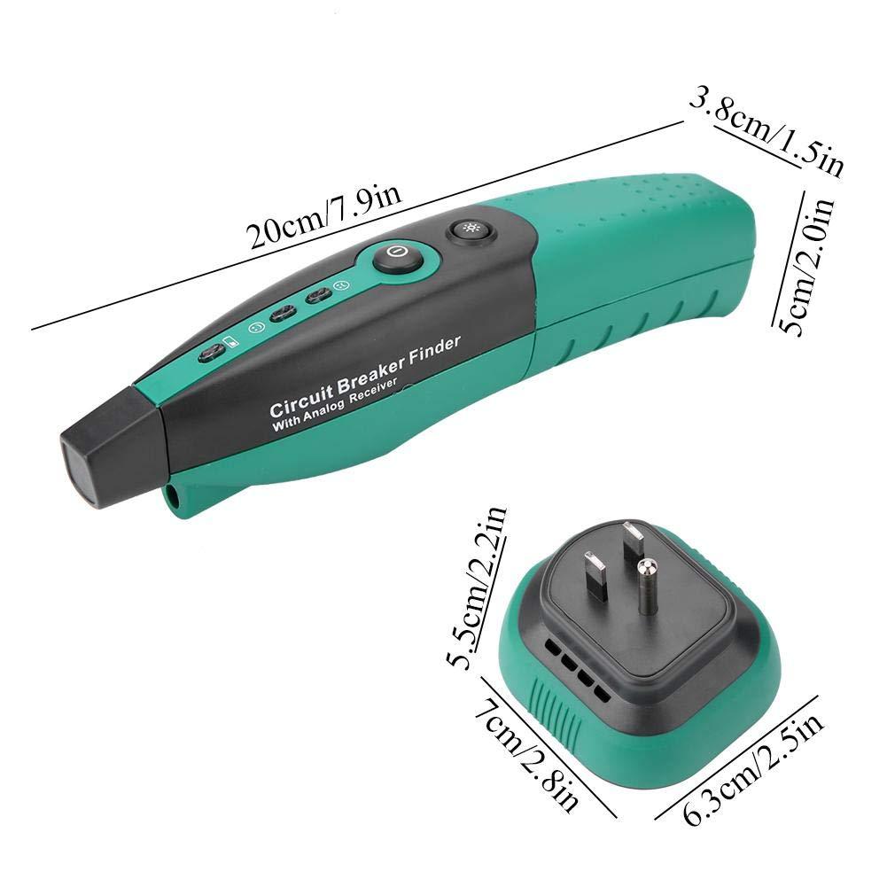 Wandisy Probador de Enchufe MASTECH MS5902 Detector de disyuntor de Detector de Voltaje de polaridad de Circuito el/éctrico autom/ático Enchufe de EE. UU.