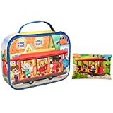 Daniel Tiger's Neighborhood - Insulated Durable Lunch Bag Sleeve Kit with Ice Pack - Trolley & Friends