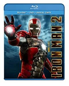 Iron Man 2 (Three-Disc Blu-ray/DVD + Digital Copy)