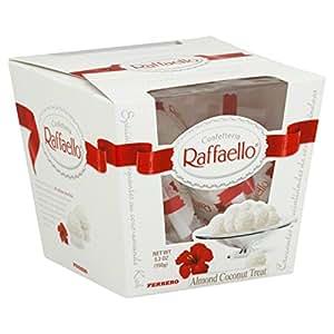 Amazon.com : Raffaello Almond Coconut Treats 5.3 OZ (Pack of 5) + (6