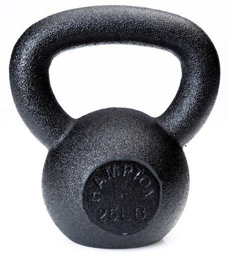 Hampton 30 lb Black Kettlebell