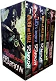 Simon Scarrow Series 1 - 5 Books Collection Set (Eagles of the Empire) (Under the Eagle, Eagles the Conquest, When the Eagle Hunts, The Eagle and the Wolves, Eagles Prey)