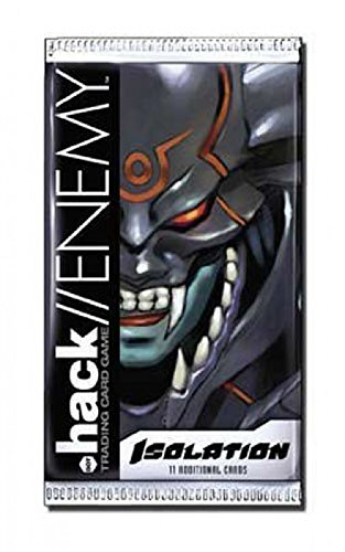 - Dot .Hack//Enemy Trading Card Game Isolation Booster Pack