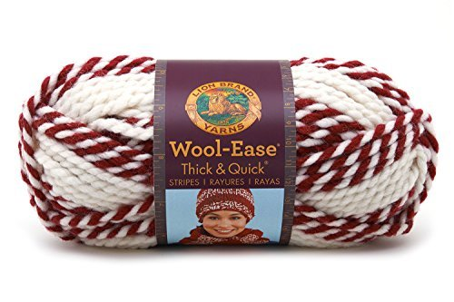 Lion Brand Acrylic Blend Wool-Ease Thick and Quick Yarn-R...