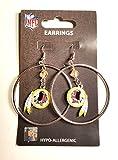 NFL Washington Redskins Color Bead Hoop Earrings