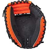 Rawlings Player Preferred Baseball Target Catcher's Mitt, Regular, 1-Piece Solid Web, 33 Inch