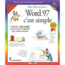 WORD 97 C'EST SIMPLE