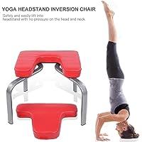 GOTOTOP yoga Chair Bodylift Headstand panca a inversione, Headstander fitness kit sgabello sedia puntello, alleviare la fatica e costruire Body, rosso
