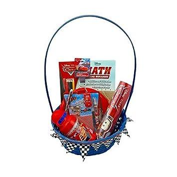 Amazon disney pixar cars easter gift basketset for baby boys disney pixar cars easter gift basketset for baby boys 3 12 negle Images