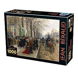 D Toys Puzzle 75741be 01 1000 Pezzi Jean Beraud Apres Loffice A Leglise De La Sainte Trinite