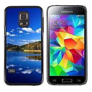 Be Good Phone Accessory // Dura Cáscara cubierta Protectora Caso Carcasa Funda de Protección para Samsung Galaxy S5 Mini, SM-G800, NOT S5 REGULAR! // Nature Great Lake