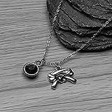 Sportybella Martial Arts Necklace, Black Belt Charm