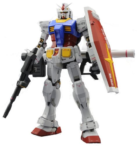 Bandai Hobby MG Gundam RX-78-2 Ver. 3.0 1/100 Scale Action Figure Model Kit - Rx 78 Model Kit