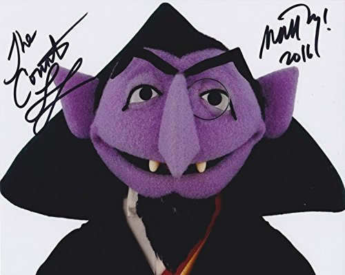Matt Vogel Count Von Count Sesame Street Signed 8x10 Photo