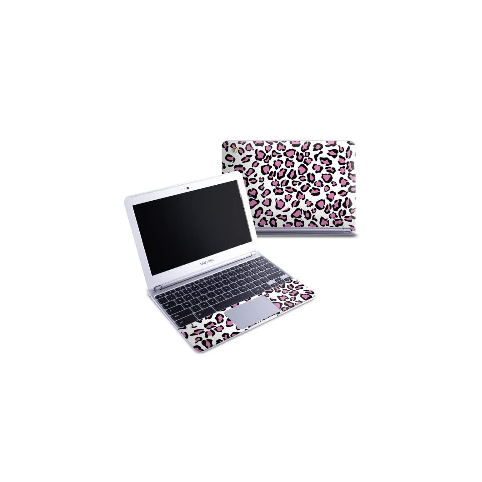 Leopard Love Design Protective Decal Skin Sticker (High Gloss Coating) for Samsung Chromebook 11.6 inch XE303C12 Notebook