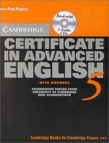 Cambridge Certificate in Advanced English 5. Student's Book: Self-study Pack