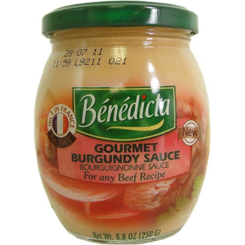Bénédicta Gourmet Burgundy Sauce for any Beef (Beef Burgundy Sauce)