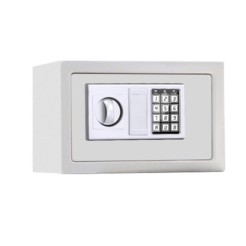 ZCF Security Safes Safe Box, Digital Small Steel Electronic Safe Deposit Box Anti-theft Safes With Lock Keypad for Money Jewelry Security Cabinet (Color : Style2, Size : 31x20x20cm) by ZCF safe