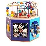 ZYN Hexahedron Child Toy Marine Theme Music Shape Letter Colour Multiple Cognition 29×30cm
