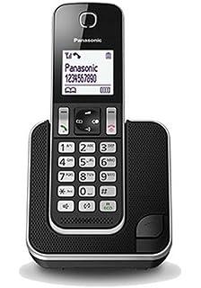 Panasonic KX-TGD310SPB - Teléfono fijo digital (bloqueo de llamadas, hasta 16 horas