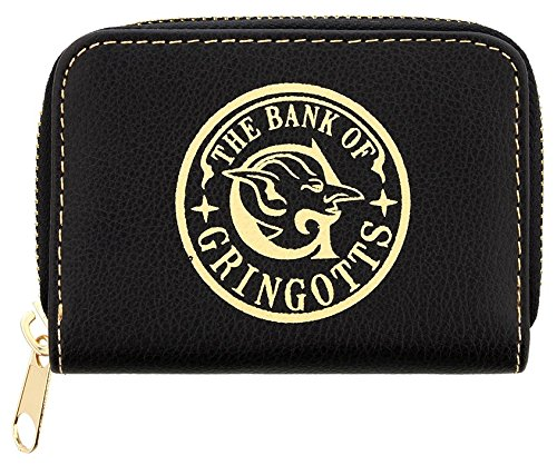 Amazon.com: Harry Potter Gringotts Bank Black Coin Purse ...