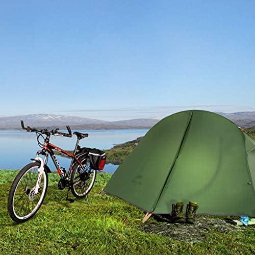 Ffhshop Tienda de Campaña Instantánea Carpa al Aire Libre portátil Individual Espesamiento a Prueba de Lluvia Carpa al Aire Libre Camping Picnic Carpa Doble Tienda de Campaña