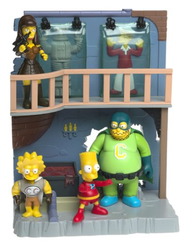 The Simpsons Toys R Us Exclusive Playset Treehouse of Horror 4 Collector's Lair - Exclusive Playmates Playset