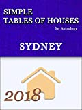 Simple Tables of Houses for Astrology Sydney 2018