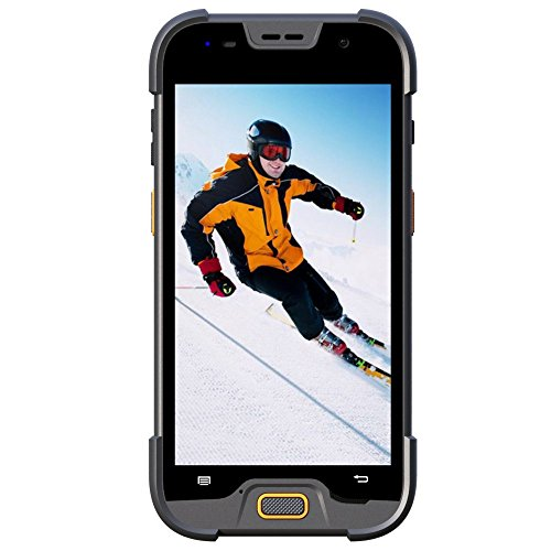 5 inch 4G LTE rugged smartphone mobile computer with 2+16GB memory & 5+13M pixels camera ()
