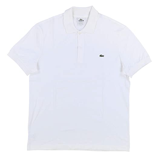 66ab60e6 Lacoste Mens Regular Fit Interlock Polo Shirt at Amazon Men's ...