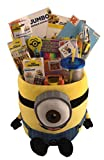 Extra Large JUMBO Despicable Me Minion Gift Basket Box for Boys or Girls Birthday, Get Well, Just Because