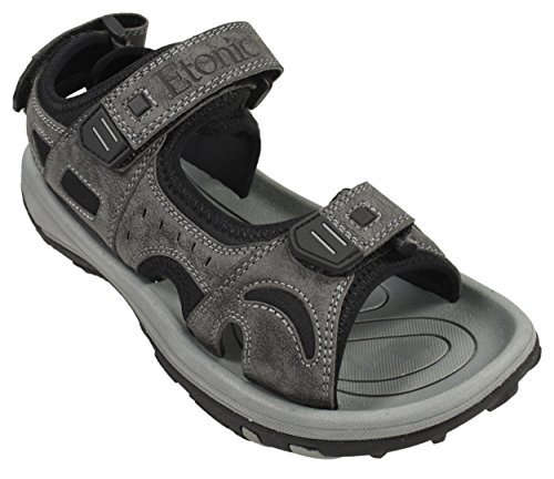 Mens Golf Sandal - Etonic Mens Spiked Golf Sandal Black 11 Medium